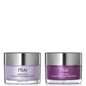 PRAI AGELESS Throat and Decolletage Day and Night Rescue Duo 50ml+50ml