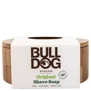 Bulldog Original Shave Soap and Bamboo Bowl 100g