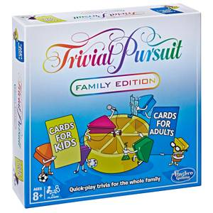 Trivial Pursuit Family Gaming - Family Edition