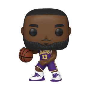 NBA Los Angeles Lakers Lebron James Pop! Vinyl Figure