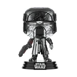 Figurine Pop! Chevaliers De Ren Blaster (Hematite Chrome) - Star Wars: L'ascension de Skywalker