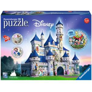Ravensburger Disney Castle 3D Jigsaw Puzzle (216 Pieces)