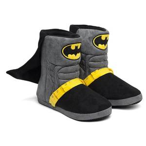 DC Comics Batman Caped Uniform Slippers