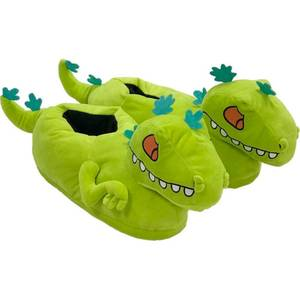 Rugrats Reptar Plush Slippers