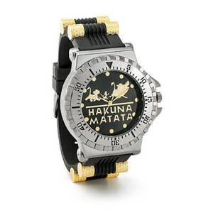 Disney Lion King Hakuna Matata Watch