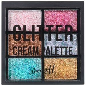 Barry M Cosmetics Glitter Cream Palette 1