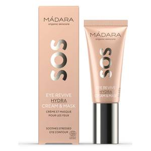 MÁDARA SOS Eye Revive Hydra Cream and Mask 20ml