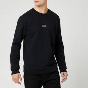 BOSS Casual Men's Weevo Relaxed Fit Sweatshirt - Black