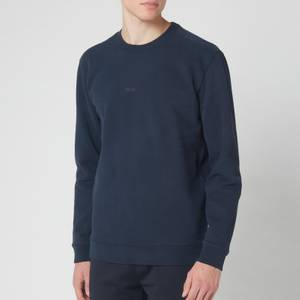 BOSS Men's Weevo Sweatshirt - Navy