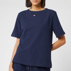 Tommy Hilfiger Women's Flag Core T-Shirt - Navy Blazer
