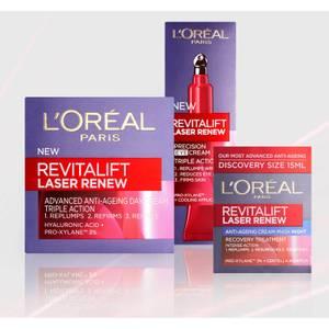 L'Oréal Paris Revitalift Laser Renew Anti-Ageing Skincare Moisturiser Set (Worth £51.97)