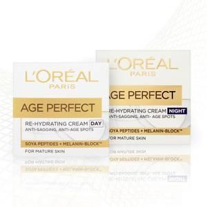 L'Oréal Paris Age Perfect Skincare Set Regime for Mature Skin