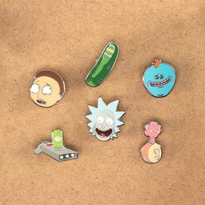Rick and Morty Enamel Pin Badges - Assortment