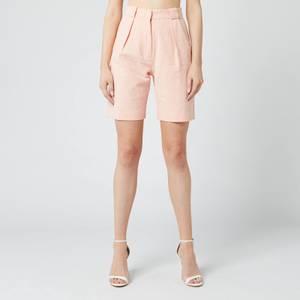 Bec & Bridge Women's Coral Club Shorts - Peach