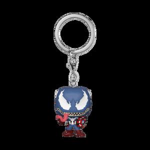 Marvel Venom Captain America Funko Pop! Keychain