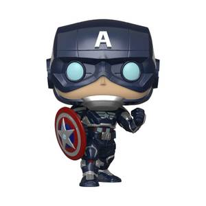Marvel - Captain America (Stark Tech Suit) Figura Pop! Vinyl
