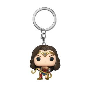 Wonder Woman 1984 With Lasso Pop! Keychain