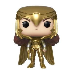 Wonder Woman 1984 Wonder Woman Gold Power (Metallic) Pop! Vinyl Figure