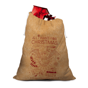 Harry Potter Officially Licensed Christmas Hessian Sack