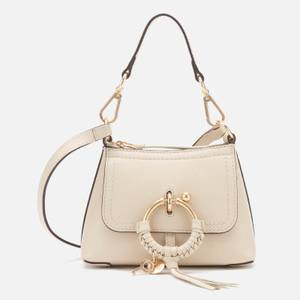 See by Chloé Women's Mini Joan Leather Cross Body Bag - Cement Beige