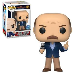 PIAB EXC Marvel Spider-Man Far From Home J. Jonah Jameson Funko Pop! Vinyl