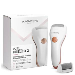 Magnitone Well Heeled 2 Rechargeable Express Pedi - White