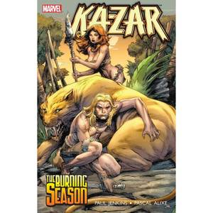 Marvel Ka-Zar Trade Paperback Burning Season
