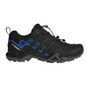 adidas Men's Terrex Swift R2 Goretex Hiking Shoes - Core Black/Blue