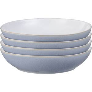 Denby Natural Denim 4 Piece Pasta Bowl Set