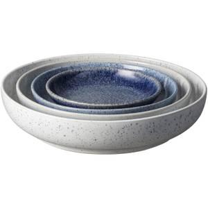 Denby Studio Blue 4 Piece Nesting Bowl Set