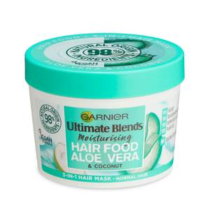 Garnier Ultimate Blends Hair Food Aloe Vera 3-in-1 Normal Hair Mask Treatment 390ml