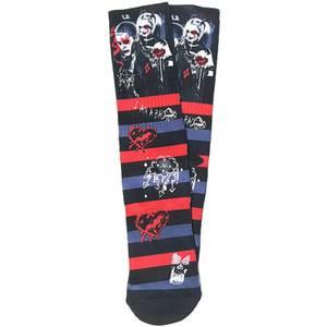 DC Comics Suicide Squad Crew Socks - Joker & Harley Quinn