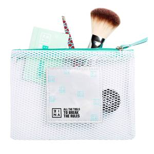 3INA Makeup Mesh Makeup Bag