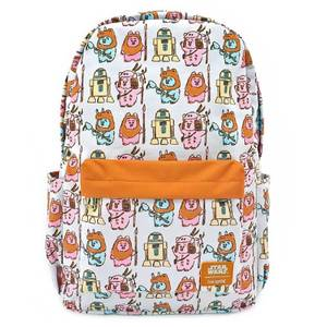 Loungefly Star Wars Pastel Ewok Aop Nylon Backpack