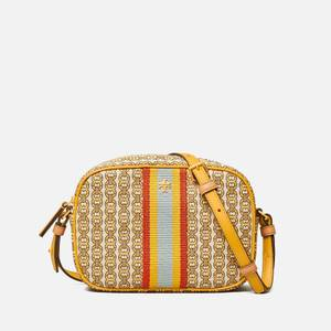 Tory Burch Women's Gemini Link Canvas Mini Bag - Daylily