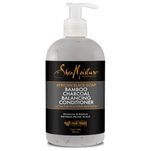 Shea Moisture African Black Soap Bamboo Charcoal Conditioner 384ml - Exclusive