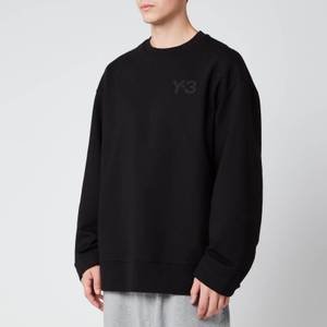 Y-3 Men's Classic Chest Logo Crew Neck Sweatshirt - Black