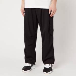 Y-3 Men's Classic Ref Wool Cargo Pants - Black