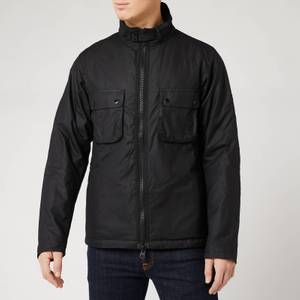 Barbour International Men's Tennant Wax Jacket - Black