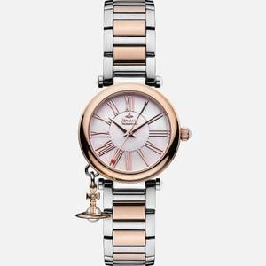 Vivienne Westwood Women's Mother Orb Watch - Silver/Gold