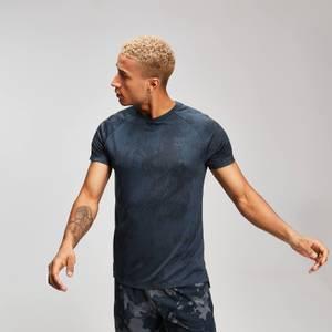 남성용 디스트레스 티셔츠 - 잉크