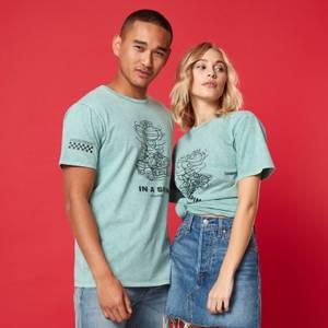 T-shirt Unisexe In A Spin - Vert Menthe