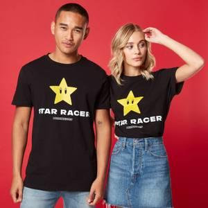 T-shirt Unisexe Star Racer - Noir