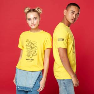 Ouch! Unisex T-Shirt - Yellow