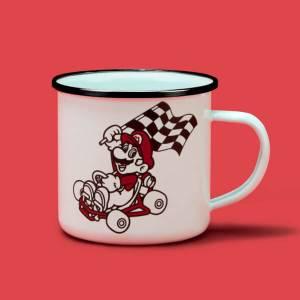 Champion Enamel Mug - White