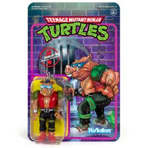 Super7 Teenage Mutant Ninja Turtles ReAction Figure - Bebop