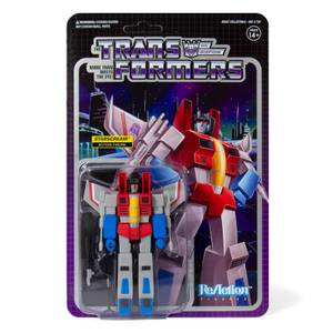 Super7 Transformers ReAction Figure - Starscream