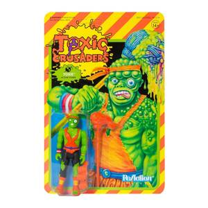Super7 Toxic Crusaders ReAction Figure - Toxie