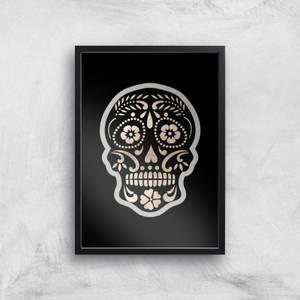 Day Of The Dead Skull Art Print