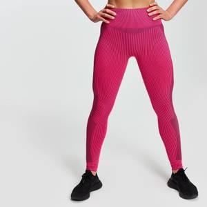 MP Women's Contrast Seamless Leggings - Super Pink